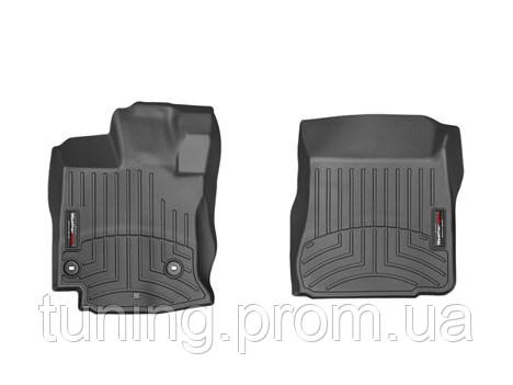Коврики салона 1 ряд с бортами черные Toyota Venza 2013-on