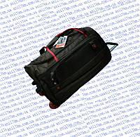 Малая дорожная сумка на силиконовых колёсах