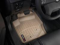 Коврики салона 1 ряд с бортами бежевые Weathertech Volvo XC90 2007-2012