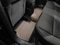 Коврики салона 2 ряд с бортами бежевые Weathertech Ford Focus 2014-on