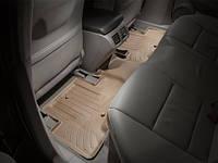 Коврики салона 2 ряд с бортами бежевые Acura ZDX 2010-on