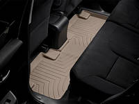 Коврики салона Weathertech 2 ряд с бортами бежевые Honda CR-V 2012-on