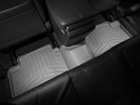 Коврики салона 2 ряд с бортами серые Honda Accord 2008-2013