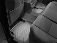 Коврики салона 2 ряд с бортами серые Mercedes C class 2008-on
