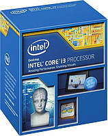 Intel Core i3 (LGA1150) i3-4170, Box, 2x3,7 GHz, HD Graphic 4400 (1150 MHz), L3 3Mb, Haswell, 22 nm,