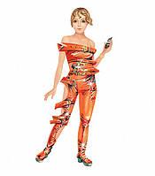 """Картонная модель """"Кукла - наряжайка. Фэнтези"""" 080 УмБум"""