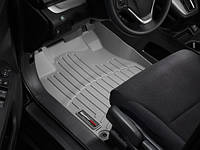 Коврики салона Weathertech 1 ряд с бортами серые Honda CR-V 2012-on