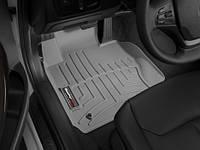 Коврики салона 1 ряд с бортами серые BMW 3 2012-on