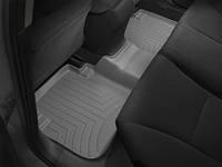 Коврики салона Weathertech 2 ряд с бортами серые Honda Accord 2013-on