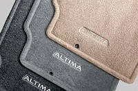 Коврики салона текстиль бежевые оригинал Nissan Altima 2012-on