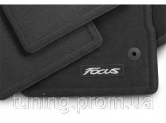 Коврики салона комплект текстиль оригинал Ford Focus 2014-on