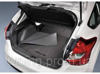 Коврик багажника текстиль оригинал для 5-дверного Ford Focus 2014-on