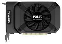 Видеокарта Palit / GeForce GTX750Ti OC / StormX / 1Gb DDR5 / 128-bit / VGA/DVI/HDMI / 1085/5400MHz (