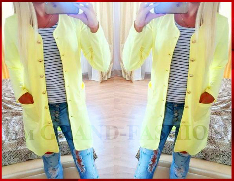 Кардиган  *Габош* - жёлтый