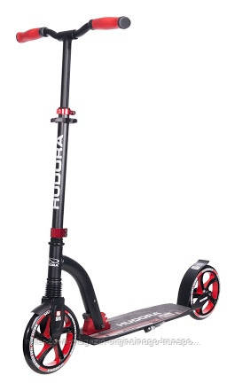 Самокат HUDORA Big Wheel Flex 200 red