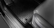 Коврик багажника резиновый кросс. NOVLINE Hyundai Santa Fe 2012-on