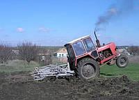 Обкатка и ТО трактора