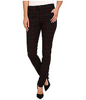 Джинсы Joe's Jeans In Line Zip Skinny, Red/Black