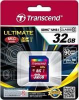 Карта памяти transcend ultimate sdhc 32gb class 10 uhs-1 (ts32gsdhc10u1)