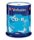Диск verbatim cd-r 700 Мб 52x cake 100 шт extra protection (43411)