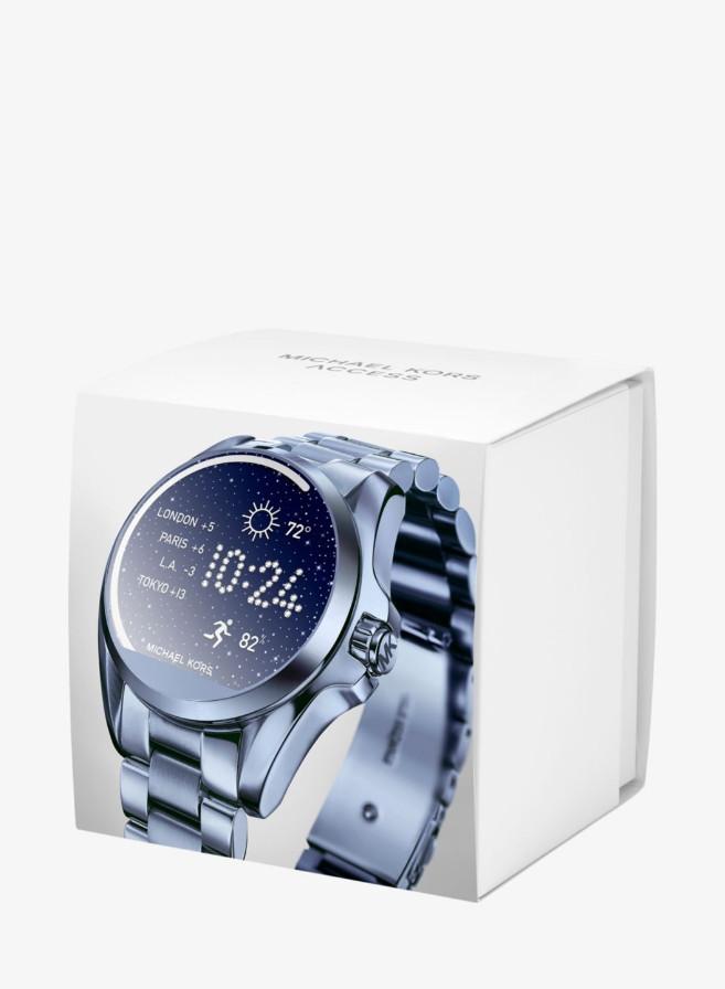 58552b78d0d6 Часы Michael Kors Access Bradshaw Navy-Tone Smartwatch MKT5006