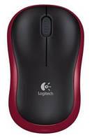 Мышь logitech m185 wl red (910-002240)