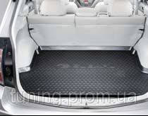Коврик багажника резиновый черный Subaru Forester 2008-2012