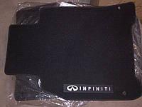 Коврики салона текстильные черные Infiniti M Series 2011-2012