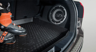 Коврик багажника резиновый Mitsubishi ASX