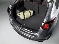 Коврик багажника текстильный Mazda CX-5 с логотипом CX-5