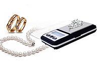 Профессиональные ювелирные миниатюрные охотничьи цифровые весы Pocket Scale MH-333 (6210PA) 0,01-200 грамм