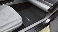 Коврики велюровые серые с нашивкой Toyota Camry V50