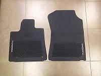 Коврики резиновые TUNDRA D-CAB-Передние PT908-3407B-22