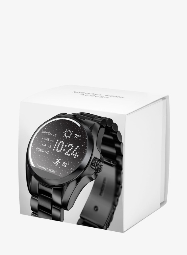 cac14f996a90 Часы Michael Kors Access Bradshaw Black Smartwatch MKT5005