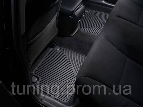Коврики салона Weathertech 2 ряд резиновые чёрные Honda Accord 2013-on