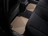 Коврики салона Weathertech 2 ряд резиновые бежевые Honda Accord 2013-on