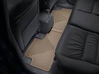 Коврики салона Weathertech 2 ряд резиновые бежевые Honda CR-V 2012-on