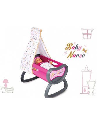 Кроватка для куклы Baby Nurse Smoby 220311, фото 2