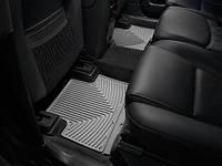 Коврики салона 2 ряд резиновые серые Weathertech Volvo XC90 2007-2012