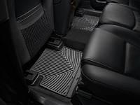 Коврики салона 2 ряд резиновые чёрные Weathertech Volvo XC90 2007-2012