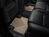 Коврики салона 2 ряд резиновые бежевые Weathertech Volvo XC90 2007-2012