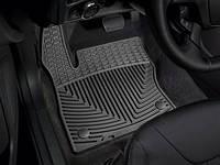 Коврики салона 1 ряд резиновые чёрные Weathertech Ford Focus 2014-on