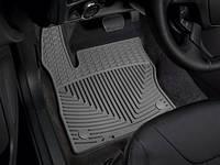 Коврики салона 1 ряд резиновые серые Weathertech Ford Focus 2014-on