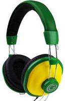 Гарнитура g-cube ghv-170 g зеленая с желтым