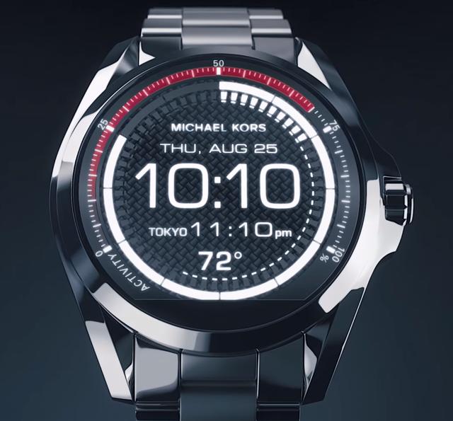 fb7b526b37b2 Часы Michael Kors Access Bradshaw Black Smartwatch MKT5005, цена 15 ...