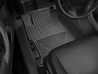 Коврики салона Weathertech 1 ряд резиновые чёрные Honda Accord 2013-on