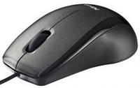 Мышь trust carve usb optical mouse black