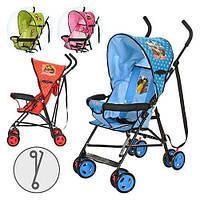 Детская коляска-трость Маша и Медведь (MM 0067-1) B (Голубой)