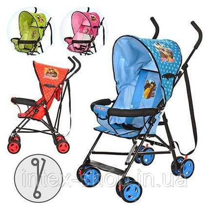 Детская коляска-трость Маша и Медведь (MM 0067-1) B (Голубой) , фото 2