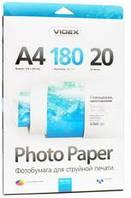 Фотобумага videx глянцевая 180 гр. А4*100 glossy (hga4-180/100)